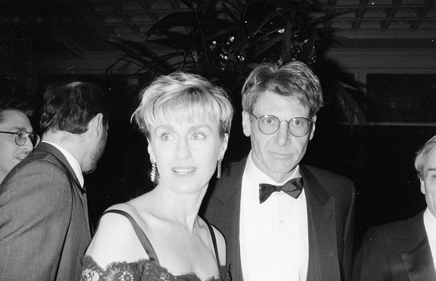 Harrison Ford and Tina Brown