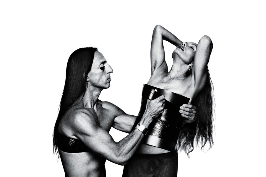 RICK OWENS AND MICHELE LAMY, 2013