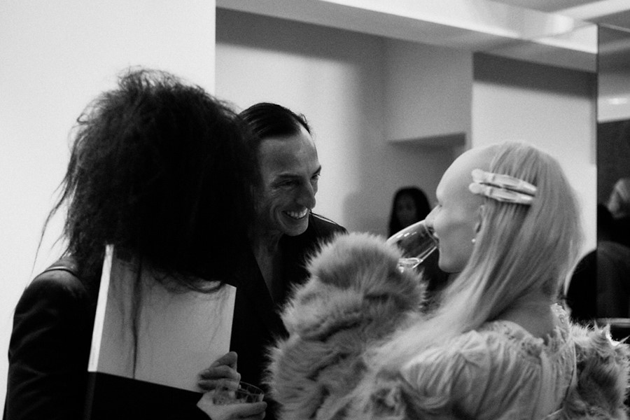 Rick Owens Signing Book Another Magazine 2019