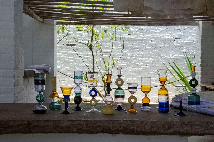 Marni Glassware Collection Charity Christmas Colombia
