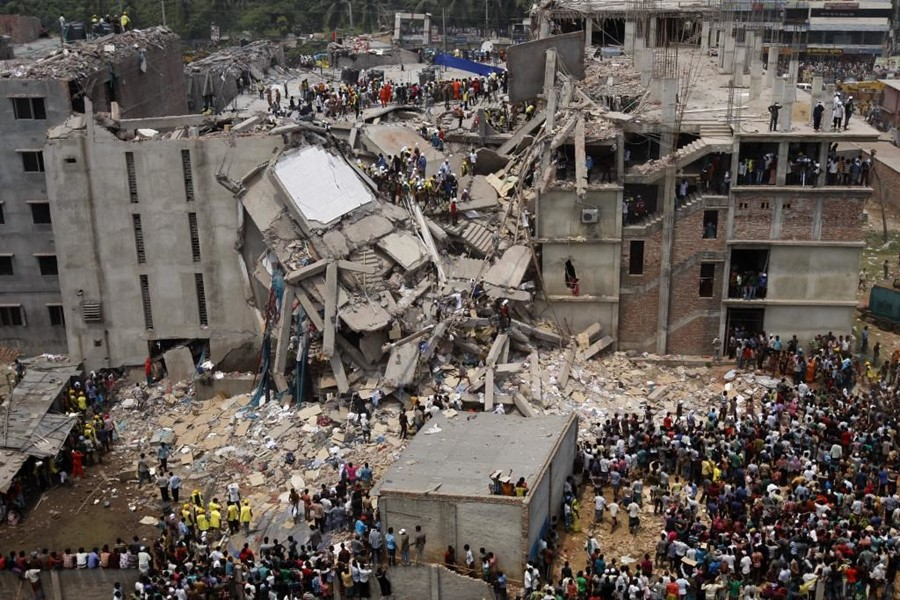 2013 Dhaka garment factory collapse Rana Plaza Collapse