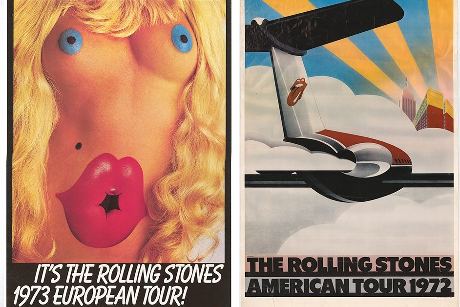 50 Years of Concert Posters from the Rolling Stones | AnOther