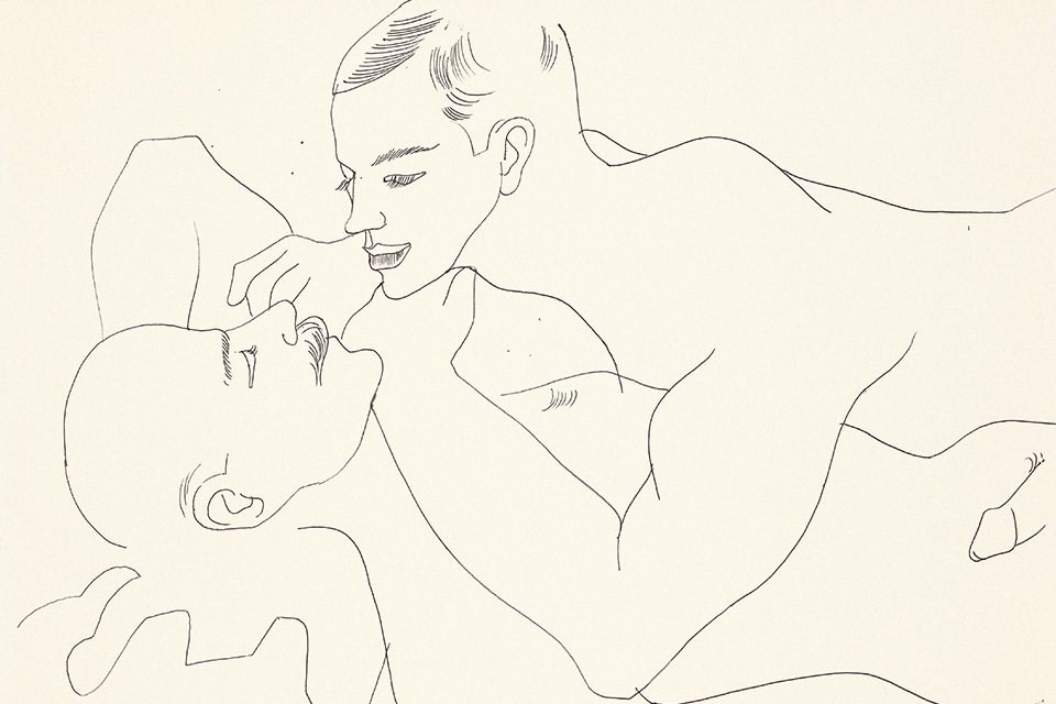 Andy Warhol's Rarely Seen Drawings of Queer Love, Sex and Desire