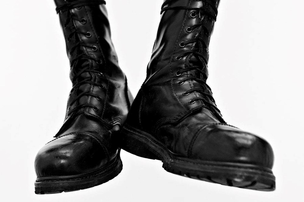 aa7e3ea518c Charlie Casely-Hayford on Skinhead Subculture and Army Boots   AnOther